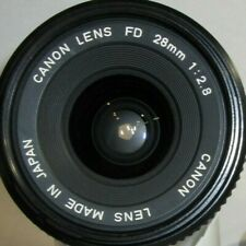 Canon FD 28mm f/2.8 wide angle lens for Canon 35mm SLR cameras FD mount