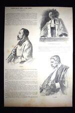 Il caso dell'anarchico Auguste Vaillant alla Corte d'Assise  Incisione del 1894