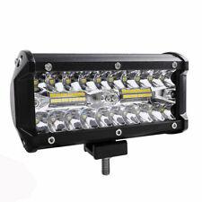2 Pack LED Light Bar 120W 24000LM Spotlight For Off Road SUV Flood Driving Lamp