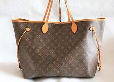 Authentic Louis Vuitton Neverfull GM  Monogram Shoulder Bag