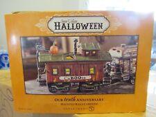 dept 56 halloween haunted rails caboose 4020957 Mint in orig box! Perfect!
