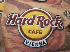 "HARD ROCK CAFE VIENNA ""1"" IRON ON PATCH SOUVENIR COLLECTIBLE #88"