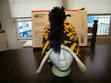 Indiana Pacers Mohawk style knit winter cap, NBA TEAM HEAD WEAR, NWT