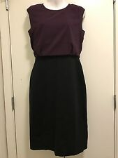 Ann Taylor LOFT dress purple /Black