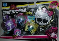 New Monster High Minis 3-Pack With Exclusive Figure Season 1 6+