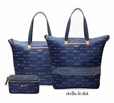 STELLA & DOT Daytripper Arrow Bag & Arrow Jewelry Box Brand New In Package