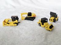 Vintage Micro Machines 1987 Yellow Construction Vehicle Lot Galoob