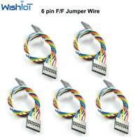 5pcs 6Pin Dupont Jumper Wire Dupont Cable 20CM Female to Female For Arduino