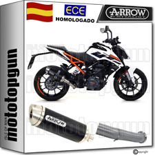 ARROW KIT TUBO ESCAPE OMOLOGADO THUNDER ALUMINIO NEGRO KTM DUKE 125 2018 18