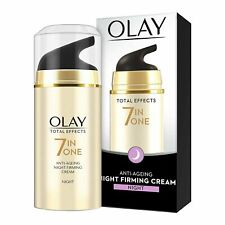 2 x Olay Total Effect 7 in 1 Anti Ageing Night Firming Cream, 20g