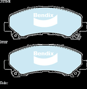 Brake Disc Pad Set Front Bendix DB1841 4WD For CHEVROLET COLORADO HOLDEN COLORAD