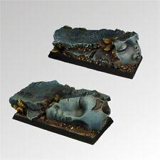 Scribor Miniatures: Ancient Ruins 25mm/50mm Bases (2) - SMM-BSAN0014