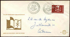 Netherlands 1964 Bible Society FDC First Day Cover #C27173