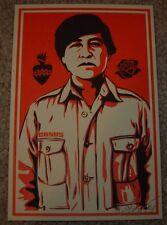 ERNESTO YERENA Print CESAR CHAVEZ Handbill poster shepard fairey