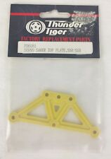 Thunder Tiger PD6081 Servo Saver Top Plate Yellow For SSR/ SSB