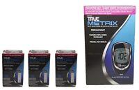 150 TRUE Metrix Blood Glucose Test Strips & Self monitoring Meter EXP 2020+ N