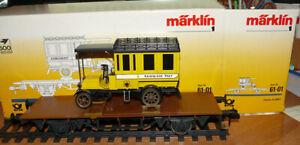 Märklin 63-01  Post-Museumswagen Ork