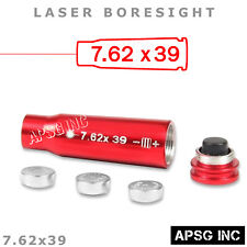 762x39 Laser Boresight for Zeroing In Rifle Scope Bore Sight Red Laser Free Ship