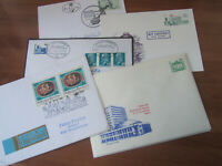 World Covers special cancels fdc etc 75 covers