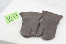 WW2 GERMAN LEATHER FLYER GLOVES
