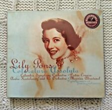 LILY PONS: COLORATURA ASSOLUTA (CD, 2-DISC) - LIKE NEW-FREE POST IN AUSTRALIA