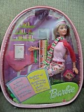 BARBIE SCHOOL COOL COLLEGE INTERNATIONAL W/ CHILD BACKPACK  *NEW*