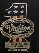 Jack and Jones National Drifting Association Men's T-Shirt Large