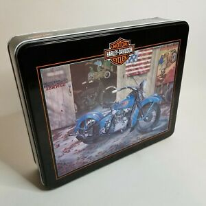 Harley Davidson 1000 Piece Knucklehead Motorcycle Puzzle in Collector's Tin
