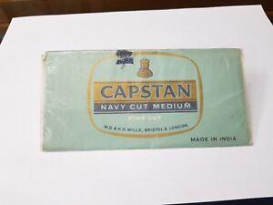 1930s Vintage Capstan Navy Cut Medium Fine Cut Paper 50 Grams Tobacco Holder