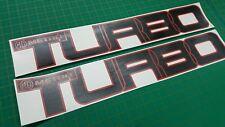 Austin MG Metro Turbo lower side door replacement decals stickers