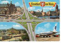AK Ansichtskarte Frankfurt am Main / Autobahn / Frankfurter Kreuz 1965