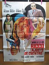 A2698 RICCO ( AJUSTE DE CUENTAS ). CHRIS MITCHUM, BARBARA BOUCHET, ARTHUR KENNED