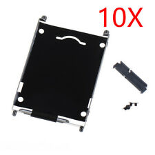 Lot of 10 New For  HP EliteBook 2560p 2570p SATA Hard Drive Caddy + Connector