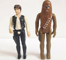 "Star Wars Han Solo and Chewbacca Action Figures 3.75"" Scale toys"