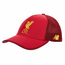 New Balance Official Mens Liverpool FC Football Fans Elite Cap Hat Red