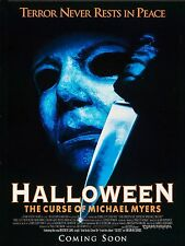 1995 Halloween Micheal Myers Movie High Quality Metal Magnet 3 x 4 inches 9246