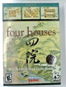 Four Houses (PC, 2006) New Sealed
