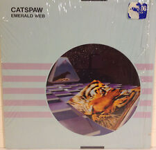 Emerald Web / Catspaw vinyl LP NM open shrink 1987 Space Rock New Age/ Rare