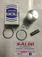 """Pistone """" GOL """" Lambretta 50 Junior Lui 1964 / 1968 diam. 39 completo"""
