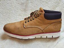 Timberland Comfort mens Chukka Boots Leather Brown-Honey/White UK 9.5 EUR 44