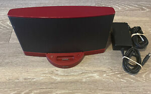 RARE RED Burgundy Bose SoundDock® Series II With Bluetooth Dongle