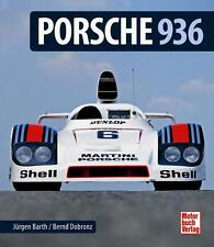 Porsche 936 Dokumentation (908/03 Turbo 936C Kremer CK5 Le Mans Barth) Buch book