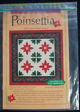 """Quilt Pattern: """"Poinsettia"""" by Quiltmaker Magazines"""