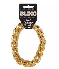 Gangster Rapper Chunky Gold Bracelet