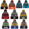 New Era NFL 2016 Sideline Sport Knit Pom Beanie Winter Hat Cap