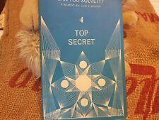 Top Secret by S.Belmont Childern's Book