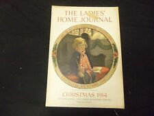 1914 CHRISTMAS LADIES' HOME JOURNAL MAGAZINE- GREAT ILLUSTRATIONS & ADS- ST 1747
