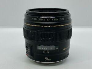 Canon EF 85mm F/1.8 USM Lens - Good Condition