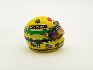 Helm Ayrton Senna 1991 Mclaren Marlboro JF Créations 1/12 F1 Anstecknadel RAR