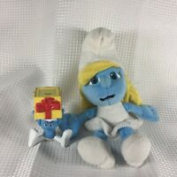 "JAKKS PACIFIC The Smurfs SMURFETTE Girl 9"" Filled Plush Stuffed Toy 2011 Jokey"